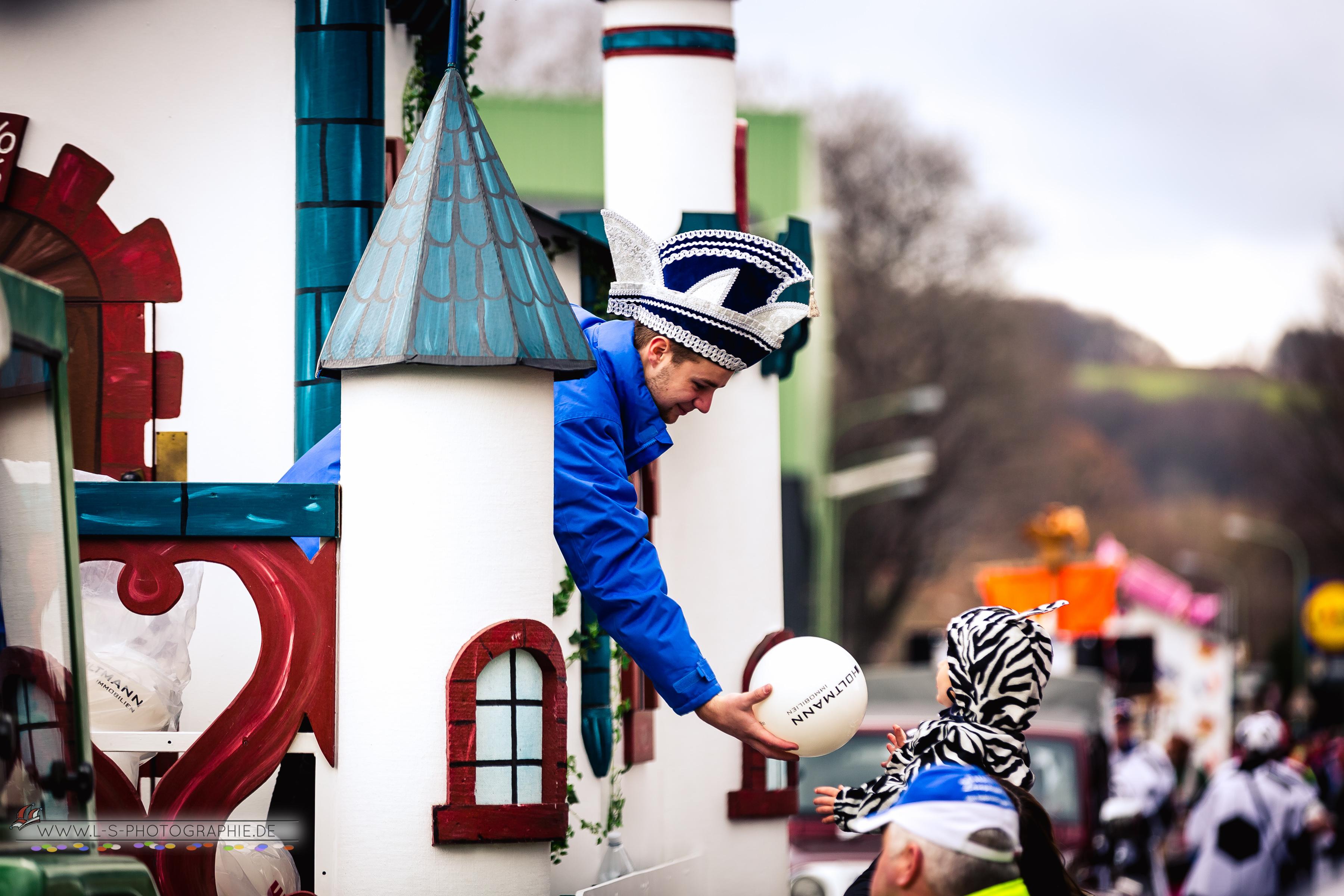 Karnevalszug in Kreuzau 2017 - LS Photographie Dueren Sebastian Lehmann