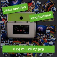 Jetzt anrufen und die Fotobox Düren für Eure Feier Buchen.