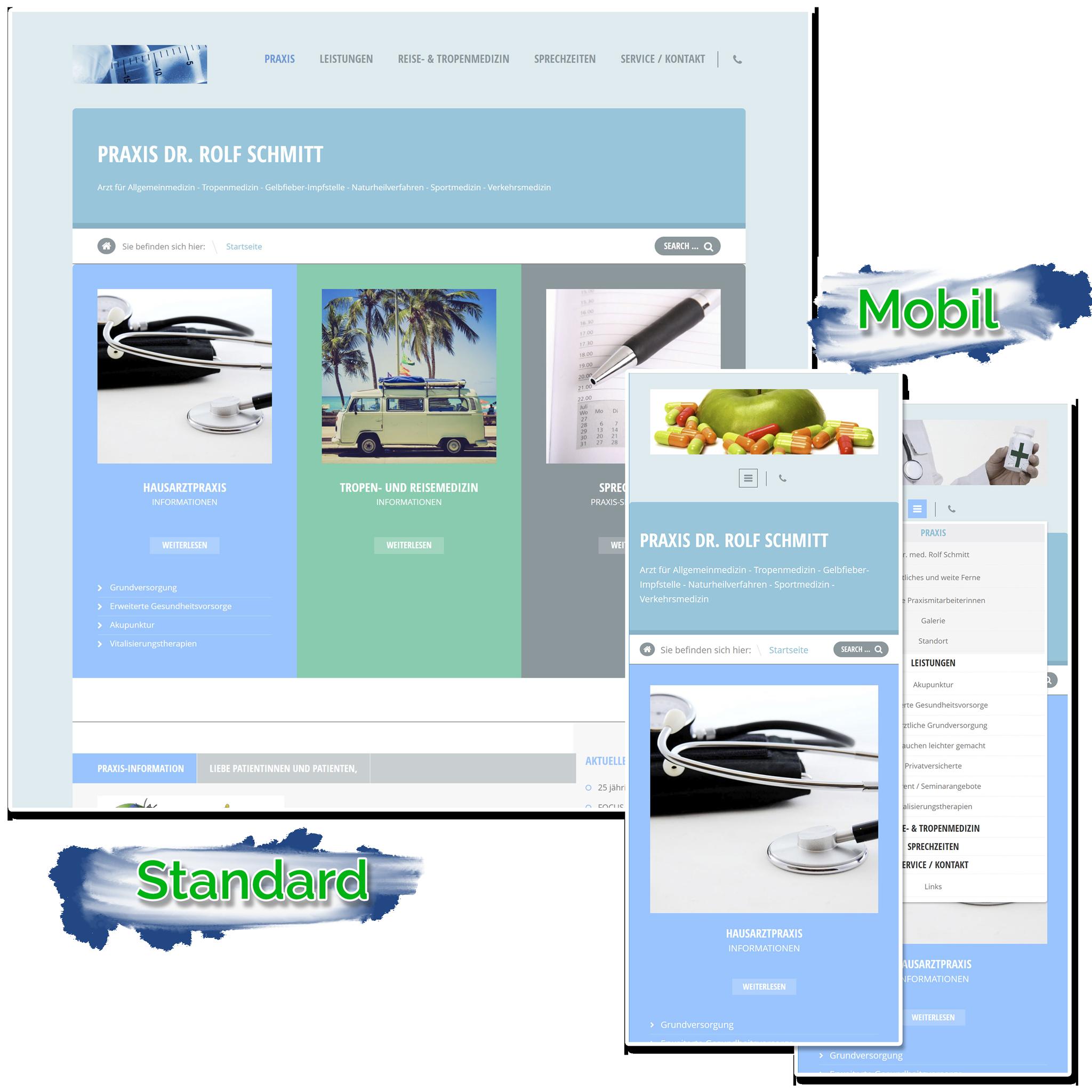 Webseitenerstellung und Redesign durch Sebastian Lehmann